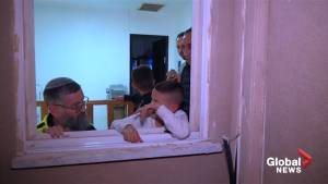 Family in Israel tours ruins home after it was struck by rocket launched from Gaza Strip