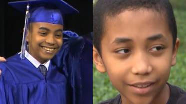 Genius Brothers 11 And 14 Graduate From High School University