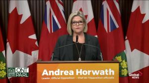 Horwath accuses Ford of playing direct role in Ron Taverner's hiring