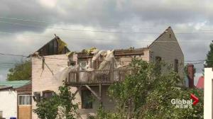 Tornado hits Lachute during intense storm