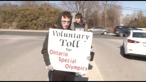 Voluntary Tolls for Special Olympics