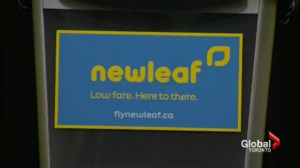Discount flights coming to Canada with NewLeaf airline