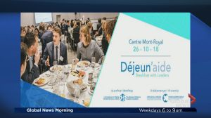 Déjeun'aide – breakfast with leaders