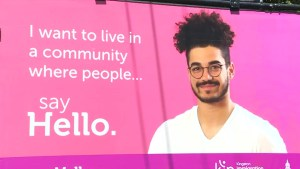 Say Hello campaign fights racism and discrimination
