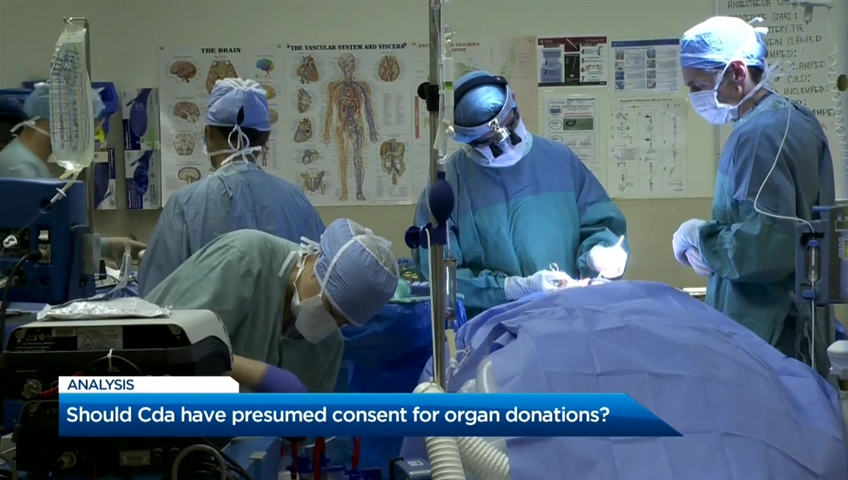 Click to play video 'Should Canada have presumed consent for organ donations?'