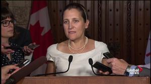 Freeland 'optimistic' over possible labour chapter improvements in NAFTA talks