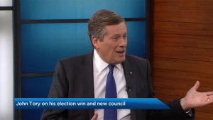 John Tory on his decisive election win and working with Doug Ford