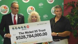 Florida couple comes forward as second of three Powerball winners