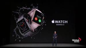 Apple Watch Series 3 unveiled with cellular built-in
