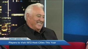 Hockey legends remember 1972 Summit Series