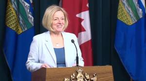 Premier Rachel Notley addresses workplace injury and death in Alberta