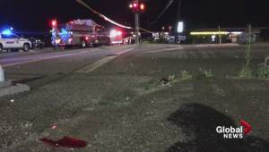 Fatal crash along Highway 97 in West Kelowna (00:43)