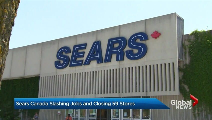 Sears plans to close all Canadian locations