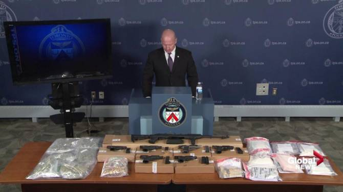 $700K in drugs, $60K in cash seized as part of joint Toronto-Ottawa police investigation