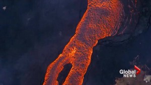 Kilauea volcano threatens power plant as rivers of lava continue to flow