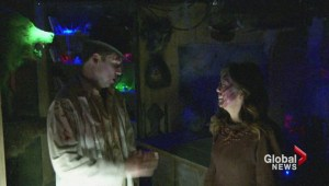 Sophie and Jay get their scare on at Fright Nights