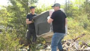 There is an area in Kingston's west end, that has had an issue with illegal dumping for decades