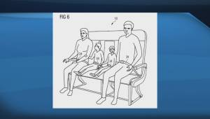 Proportionally awkward-looking Airbus bench seat design draws criticism (00:58)