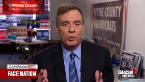 "'Need a check on this president"": Sen. Warner urges Americans to vote in midterm elections"