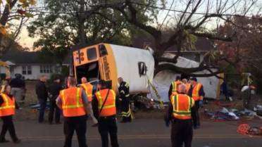 Chattanooga mourns death of youngsters in school bus crash