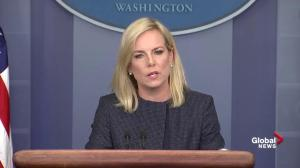 Homeland Security Secretary outlines when they will separate adults, children