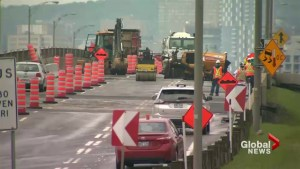 Construction blunder closes Bonaventure Expressway
