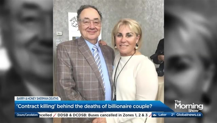 Billionaire couple's deaths were homicides, police say