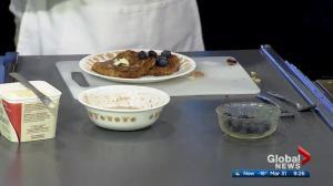 Stump Kitchen cooking breakfast on Global Edmonton (3/3)