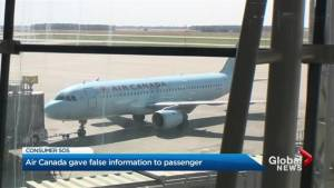 Air Canada misled customer about rights