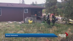 House fire in West Kelowna