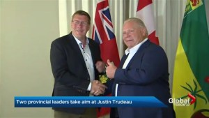 Ontario, Saskatchewan premiers continue battle with prime minister over carbon tax