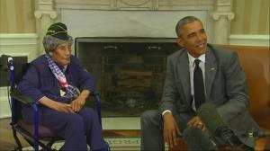 Barack Obama meets with oldest living U.S. veteran