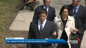 Const. James Forcillo's bail has been revoked