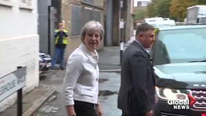Royal baby: Theresa May, Britons react to Harry and Meghan's 'wonderful news'