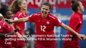 Christine Sinclair 4 goals away from setting all-time record
