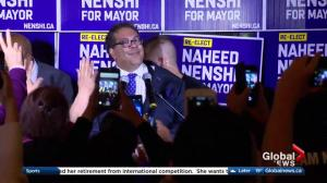 Naheed Nenshi wins third straight term as Calgary's mayor