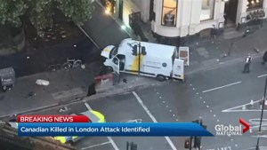 Canadian killed in London terror attack