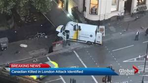 Canadian killed in London terror attack (03:42)