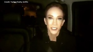 Kathy Griffin faints on stage in Dublin