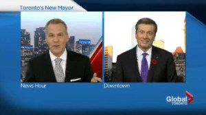 One-on-one with mayor-elect John Tory