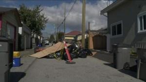 More asbestos dumped in Metro Vancouver alleys
