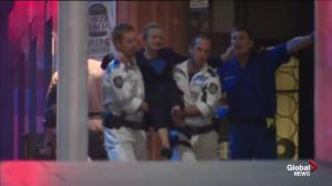 Hostage removed after gunfire in Australia