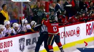 Calgary Flames defenceman Dennis Wideman suspended indefinitely