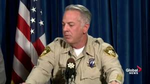 Las Vegas police chief explains discrepancies in shooting timeline