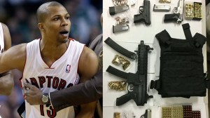 Former Raptors player Sebastian Telfair arrested on gun, drug charges