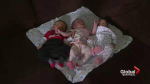 Three Kahnawake sisters give birth within 44 hours (02:01)