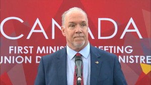 B.C. premier reacts to excise tax on marijuana