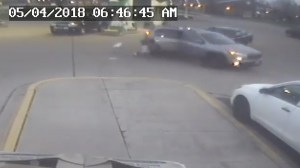 Girl seen jumping from moving vehicle in Illinois during hijacking
