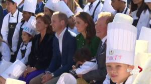 Prince William and Kate shake hands, speak with kid chefs at Mission Hill Family Estate Winery
