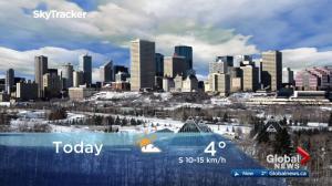 Edmonton early morning weather forecast: Friday, November 24, 2017
